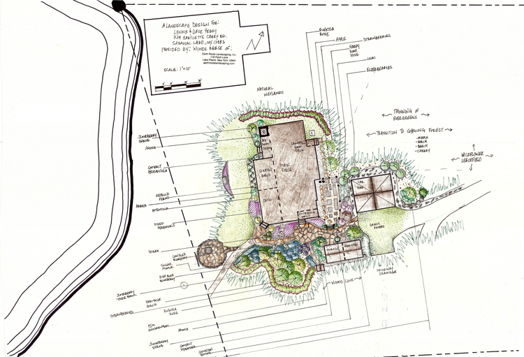 Earth roots landscaping portfolio lake placid for Earth designs landscaping